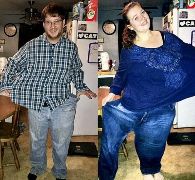 Истории похудения американца