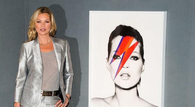 Кейт Мосс. В 2010 году, пока модель, ее бойфренд и мать находились в ее квартире в Лондоне, оттуда вынесли дорогие предметы искусства.