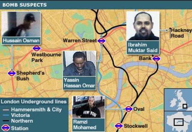 А 21 июля 2005 в Лондоне произошла попытка повторных террористических актов, также в метро и в автобусе.