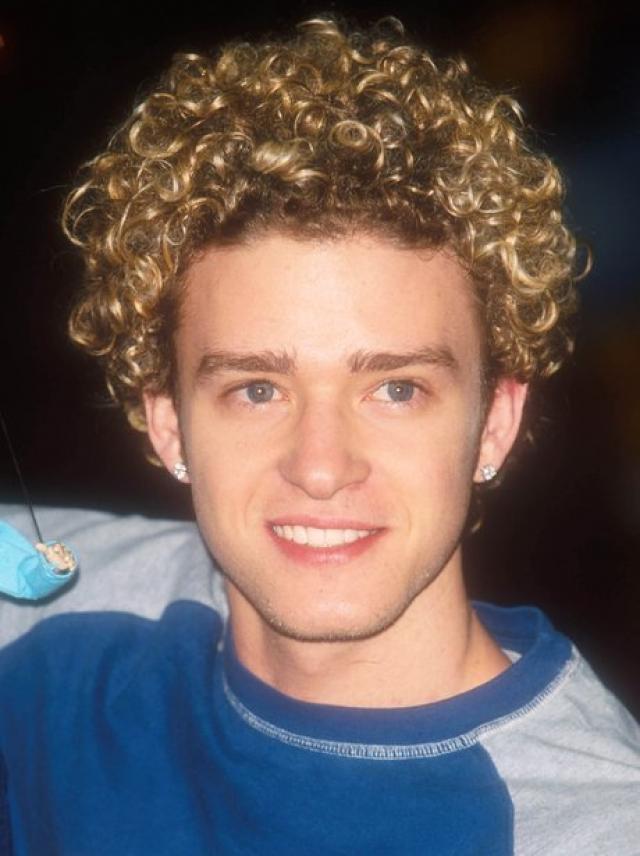 Джастин Тимберлейк. Молодой-зеленый и кудрявый.
