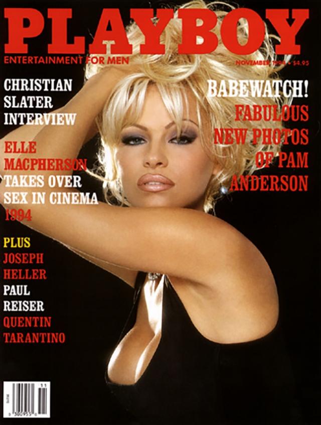 """""""Спасательница Малибу"""" еще ни раз украшала собой обложку журнала."""