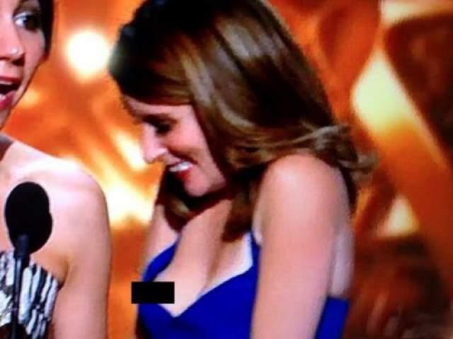 Тина Фей Комедиантка Тина Фей определенно не хотела открывать так много, когда она получала награду на 65-ой церемонии вручения Эмми в 2013 году.