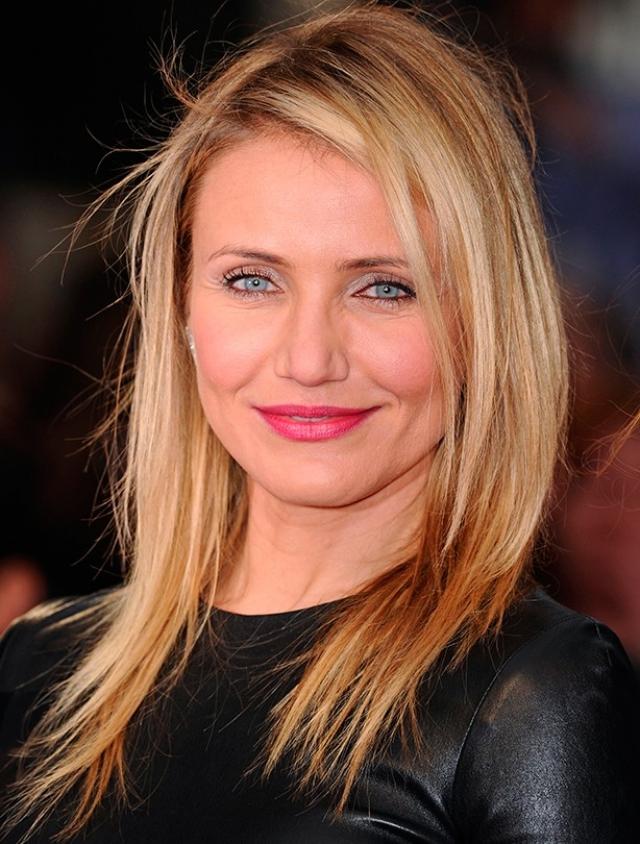 Кэмерон Диас. Актриса однажды решила кардинально сменить привычный цвет волос.