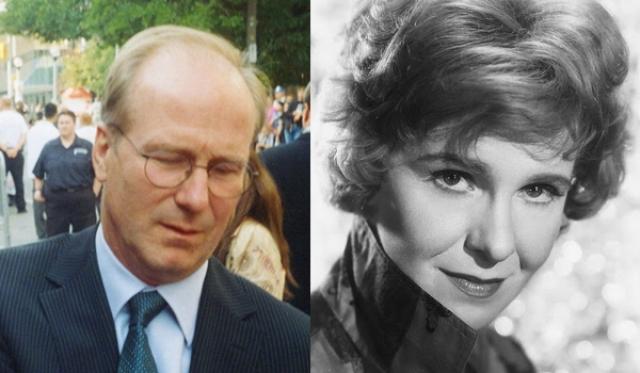 """1986 - Уильям Херт (""""Поцелуй женщины-паука"""")/Джеральдин Пейдж (""""Поездка в Баунтифул"""")"""
