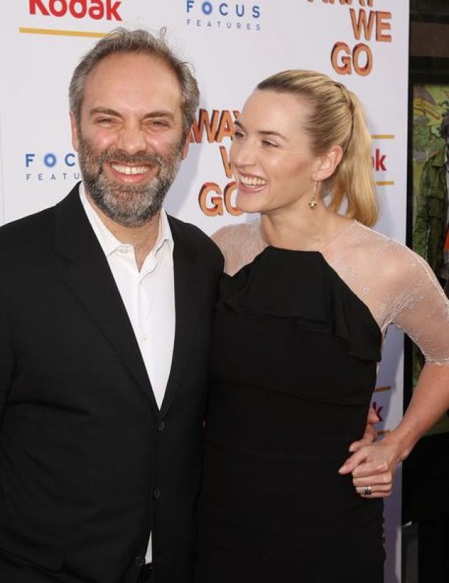 Вторым избранником актрисы снова стал режиссер - Сэм Мендес . Пара сыграла свадьбу в мае 2003 года, причем в это время Кейт уже ждала ребенка. Однако через семь лет семья распалась.