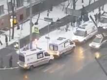 Трое детей спрыгнули с четвертого этажа во время пожара в Москве