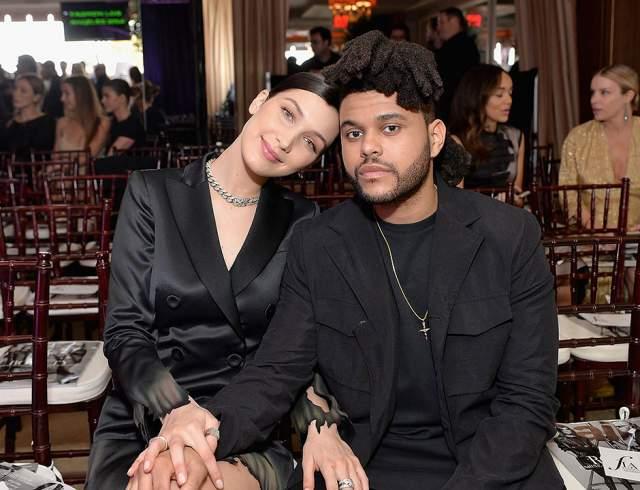 """Белла Хадид, 22 года. Белла Хадид и Абель Тесфайе, известный широкой публике под псевдонимом The Weeknd, были вместе полтора года. Свои отношения они никогда особенно не афишировали, но поговорка про """"счастье любит тишину"""" не сработала: в 2016-м они расстались."""