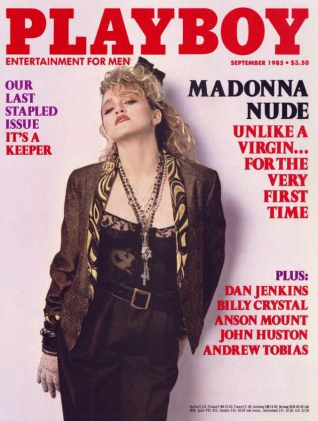 В 1985 году, в сентябрьском номере журнала Playboy появились очень откровенные фотографии Мадонны , которая к тому моменту уже была звездой, и стремительно двигались к титулу суперзвезды, и одной из самых успешных исполнительниц в истории музыки.