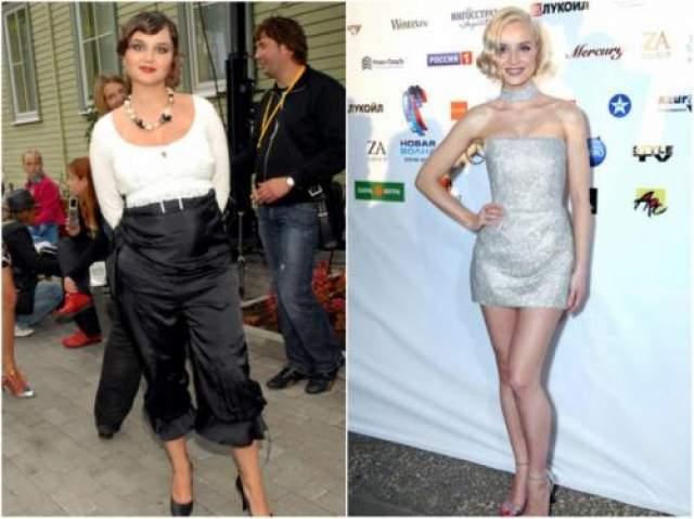 Полина Гагарина, сбросила 40 кг