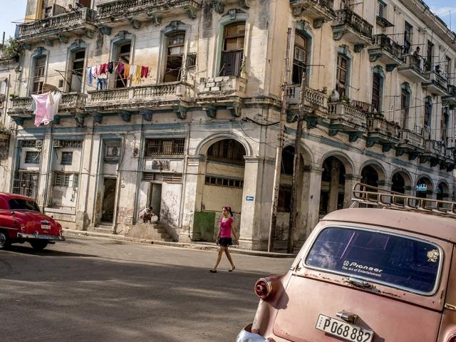 Уличный пейзаж Гаваны, Куба. The New York Times/Redux