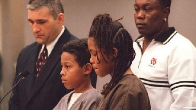 Кэтрин и Кертис Джонс. В 1999 году во Флориде 13-летняя девочка и ее 12-летний брат, сговорившись, застрелили свою подругу Соню Спейт, которой, как выяснилось позже, просто-напросто завидовали.