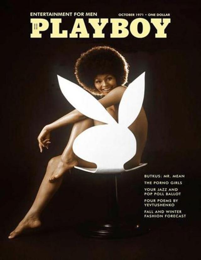 Первой цветной женщиной, появившейся на обложке популярного мужского издания Playboy, стала Дарин Стерн в 1971 году. По тем временам - смелое решение.