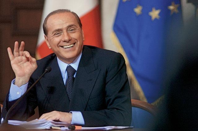 79-летний Сильвио Берлускони , трижды становясь премьер-министром Италии, занял третье место в списке своих богатых соотечественников – его состояние оценивается в более чем семь миллиардов долларов.