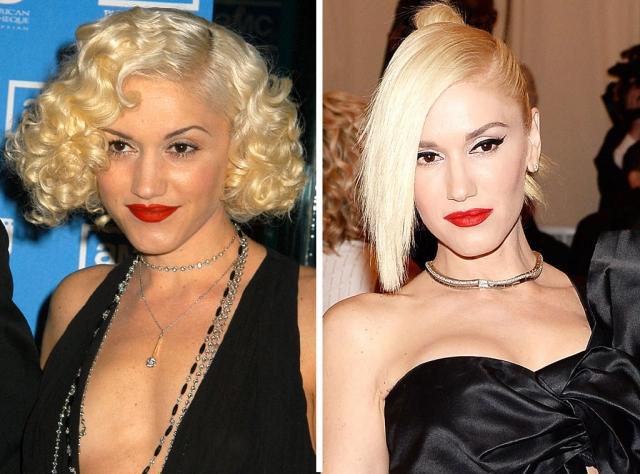 Гвен Стефани. 46-летняя певица и модельер практически не меняется.