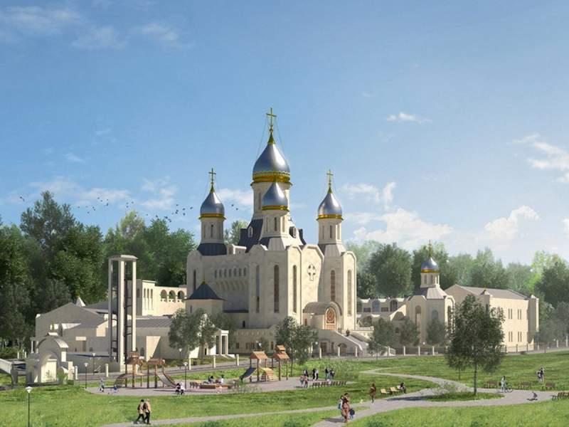В Москве строят главный храм российских олимпийцев