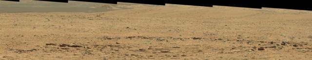 Мозаика кратера Гейла.