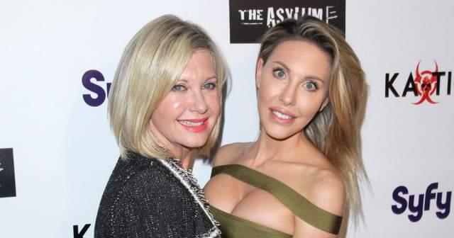 Оливия Ньютон-Джон. 69-летняя актриса и певица, как это не парадоксально, выглядит свежее и естественней собственной 31-летней дочери.