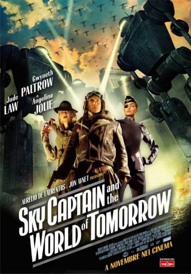 """""""Небесный капитан и мир будущего"""" (2004). Лоуренс Оливье появился в фантастическом боевике в качестве главного злодея доктора Тотенкопфа, несмотря на то, что умер за 13 лет до выхода фильма."""