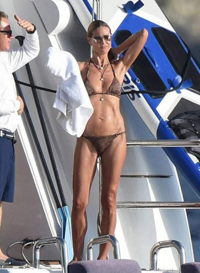 Модель, экс-ангел Victoria Secrets, мать четверых детей и бизнесвумен 46-летняя Хайди Клум, с годами выглядит только лучше.