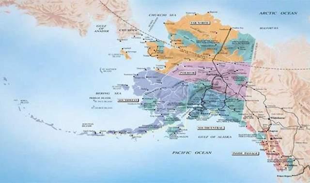 Вскоре после этого, в 1880-х и 1890-х годах, там началась массовая добыча золота. На Аляске до сих пор добывается больше золота, чем в любом другом штате США, за исключением штата Невада.