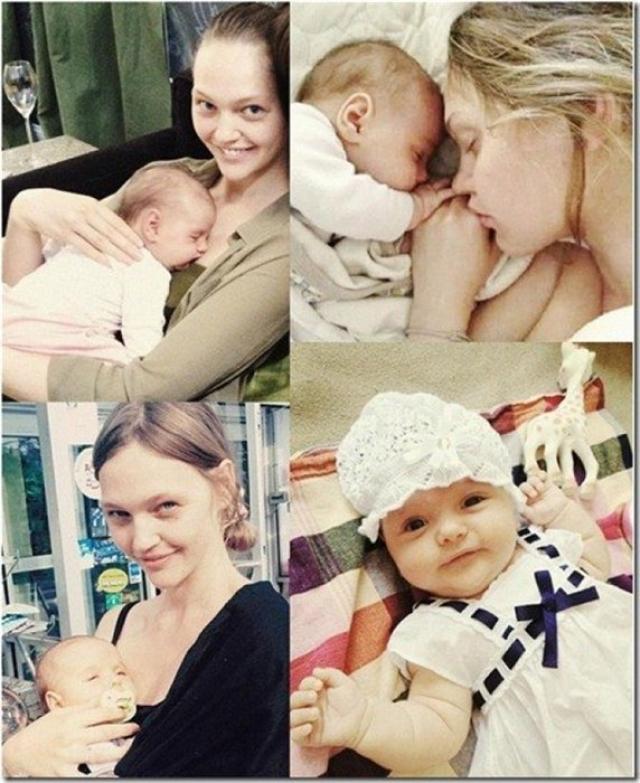 В 2012 году у пары родилась дочка, которой дали имя Миа Айсис.