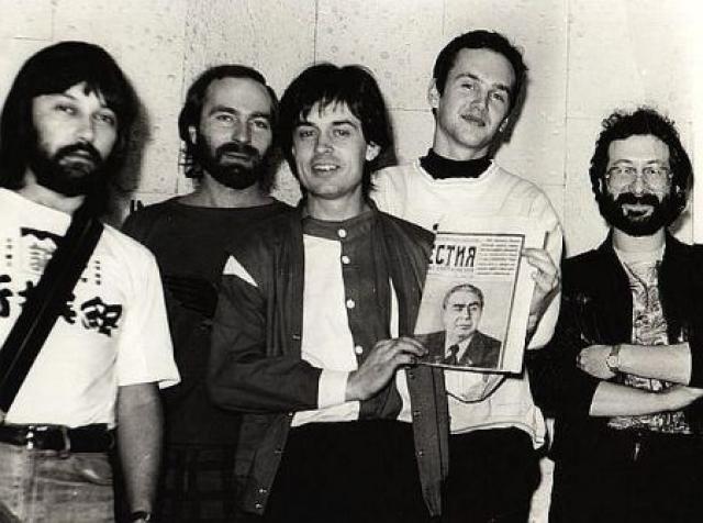 """""""Воскресение"""" - рок-группа существует с 1979 года."""