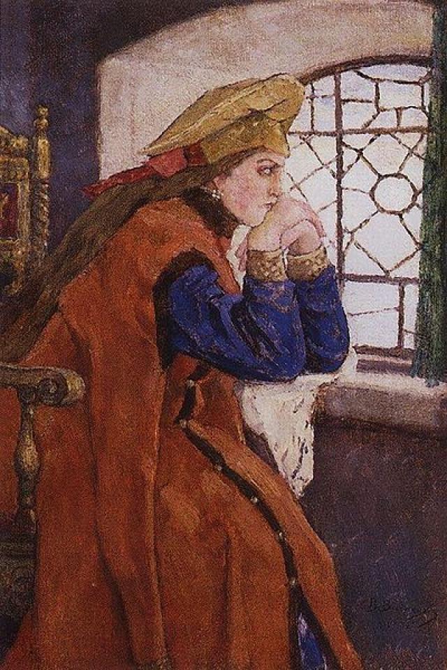 Четвертую супругу Ивана IV, превратившую владыку в подкаблучника, невзлюбили бояре - оклеветали перед царем. Больше 50 лет Анна провела в заточении в монастыре.