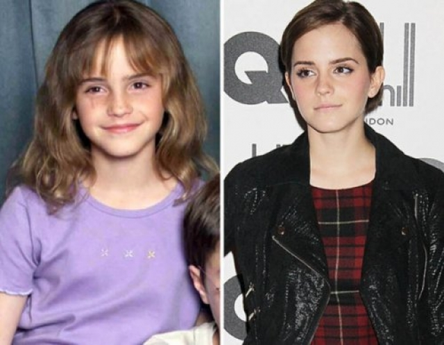 """Эмма Уотсон , """"Гарри Поттер""""."""