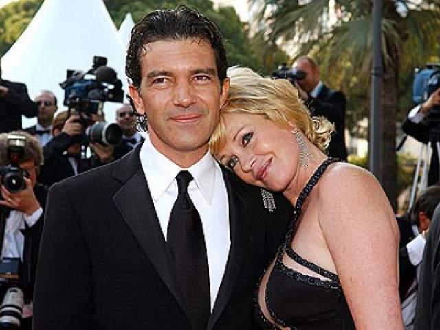 Антонио Бандерас и Мелани Гриффит, 1996-2015.