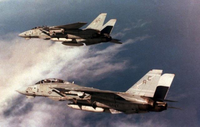 Утром 19 августа очередной облет выполняла пара истребителей-бомбардировщиков Су-22. Оба F-14 заняли удобные позиции для стрельбы и атаковали ливийцев ракетами AIM-9, в результате чего оба Су-22 были сбиты.