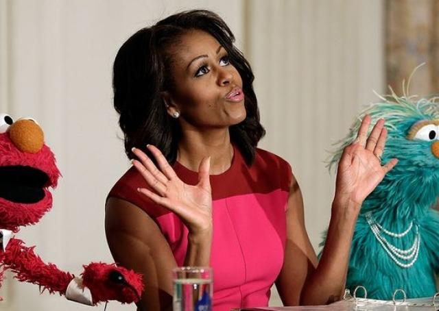 33. Мишель Обама. Барак явно попросил друзей проголосовать за супругу.