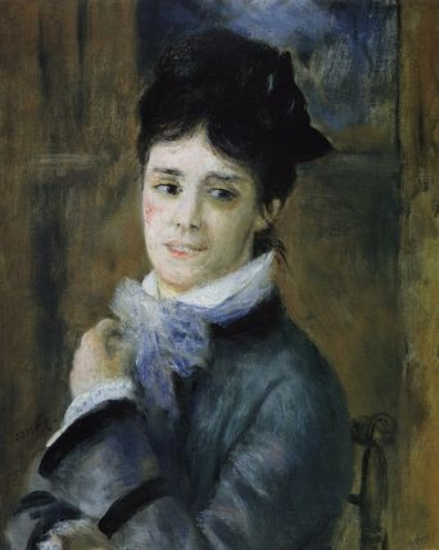 """Она родила от него сына, будучи вне брака. Именно ее портреты принесли ему первый шумный успех. На картине """"Женщины в саду"""" присутствует целых четыре Камиллы."""