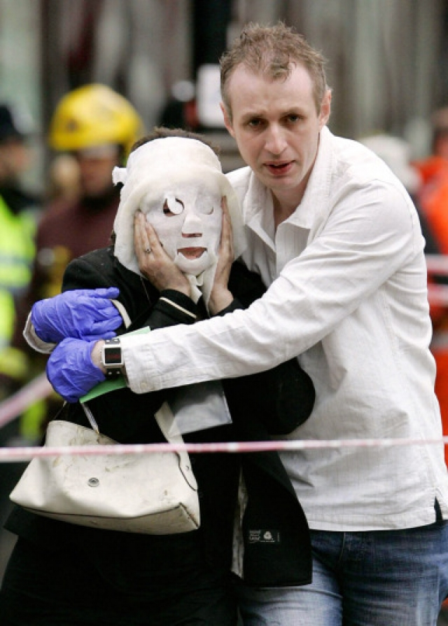 Большой резонанс в обществе вызвал тот факт, что смертники были гражданами Соединённого Королевства.