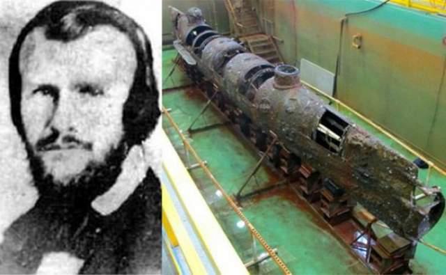 Гораций Ханли: утонул в подводной лодке. Адвокат и член законодательного органа штата Луизиана помогал в разработке первых подводных лодок. С его помощью были спроектированы и построены три разные модели.