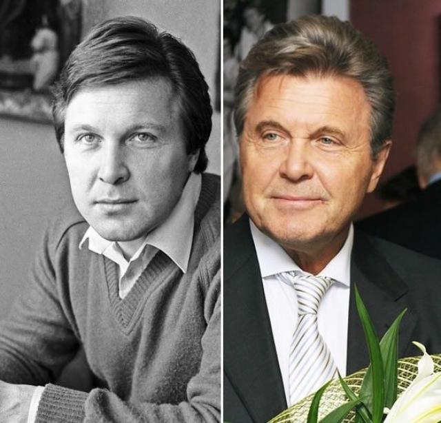 Лев Лещенко. Легендарный исполнитель вполне узнаваем.
