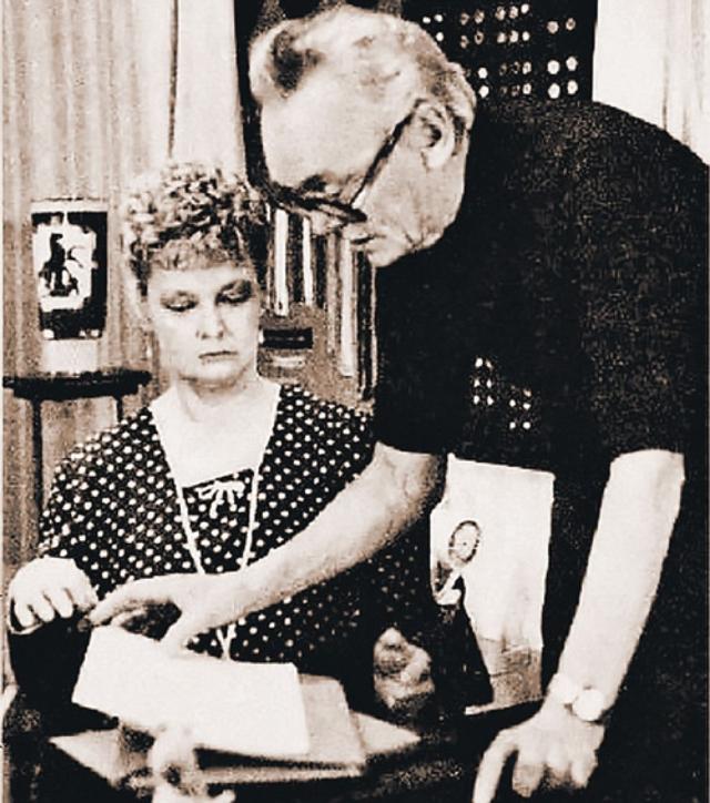 Нина Гребешкова. 40 лет была женой режиссера Леонида Гайдая.