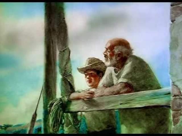 """Александр Петров, """"Старик и море"""" (1999). Мультипликационный фильм Петрова по одноименной повести Эрнеста Хемингуэя наконец получил заветную статуэтку в 2000 году."""