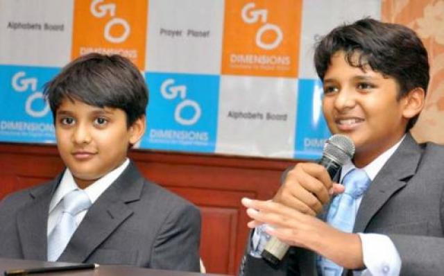 Sanjay и Shavran Kumaran — GoDimensions Эти 2 брата владели целой игровой корпорацией, когда им было 12 и 14 лет соответственно.