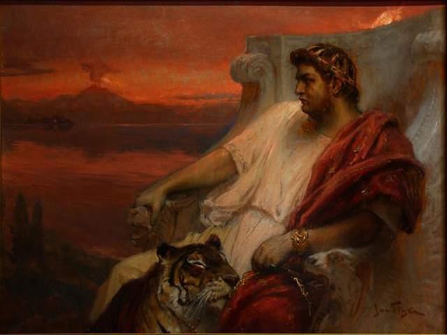 Нерон, также римский император, вырос в атмосфере разврата. Его отец имел бесчисленное количество любовниц, которых даже не скрывал, а мать спала со своим братом Калигулой.