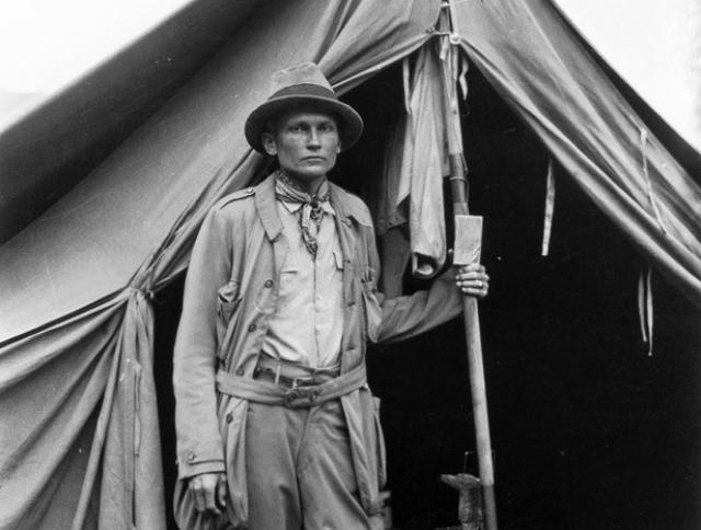 24 июля 1911 года американский историк Хайрам Бингем обнаружил в Перу на вершине горного хребта высотой в 2057 м заброшенный город инков Мачу-Пикчу .