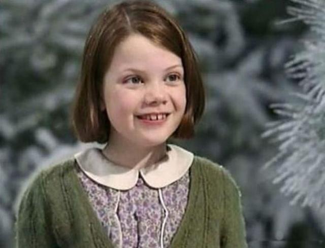"""Джорджи Хенли. Актриса исполнила роль Люси Певенси из """"Хроники Нарнии"""" в совсем юном возрасте."""