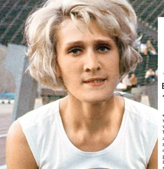 В 1967 году, после Олимпийских игр в Мехико, прошла секс-контроль, где выяснилось, что Клобуковска - мужчина.