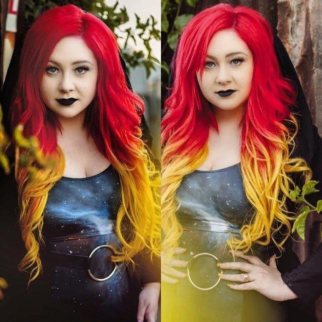 10.Огненные волосы