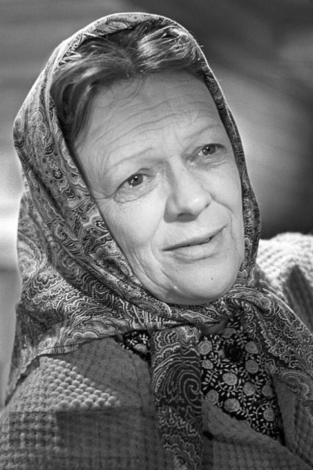 Татьяна Пельтцер , 1904 - 1992. Пожалуй, самая известная бабушка в Советском кинемтографе.