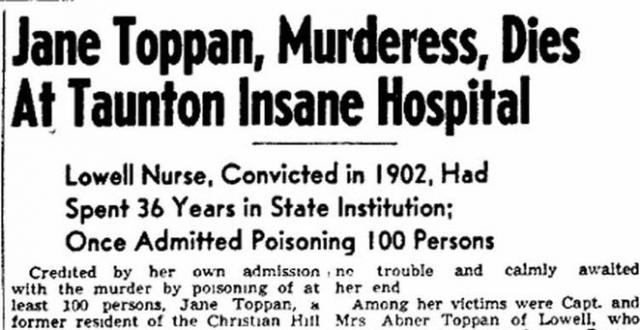 Топпан пыталась покончить жизнь самоубийством, ее поместили в психиатрическую больницу, где она жила в течение сорока лет, вплоть до своей смерти в 1938 году.