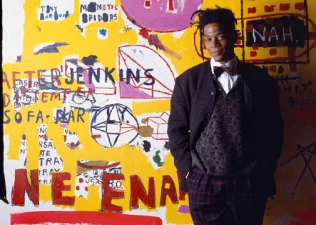 Жан-Мишель Баския, 1960-1988. Американский граффити-художник стал популярен в 70-е годы, будучи очень и очень молодым. Начав с граффити, он вскоре забрался на вершину современного искусства: уже в 21 год Баския устраивал первую персональную выставку, не имея никаких связей: он был бездомным.