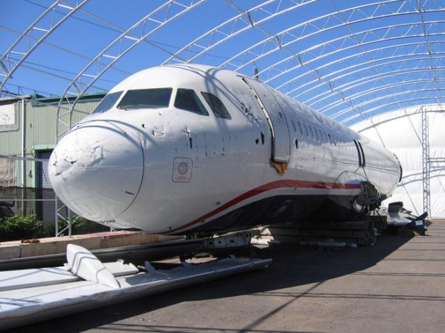 """После окончания расследования самолет приобретен Музеем авиации """"Каролинас"""" в Шарлотт, Северная Каролина."""