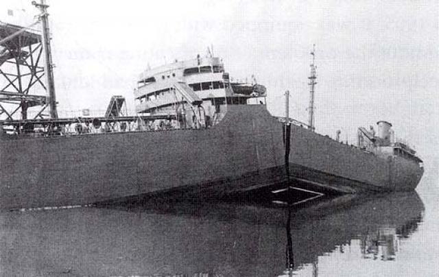 """Последнее сообщение о """"Циклопе"""" поступило из Барбадоса, где судно совершило внеплановую стоянку."""