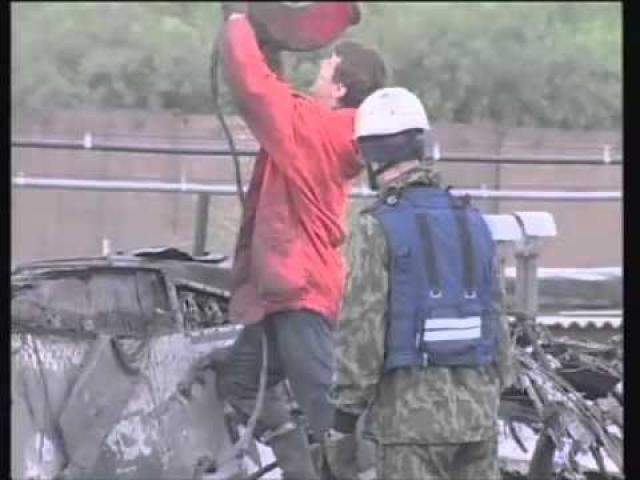 На месте катастрофы МЧС России провело поисково-спасательную операцию, которая завершилась 14 июля 2006 года.