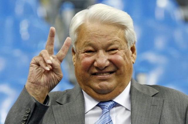 """Борис Ельцин : """"Я сегодня ночью - ну как-то готовился. Ну, решил на свежую голову, так сказать, часа в два ночи почитать Пушкина. И вы знаете, оказалось не так просто""""."""